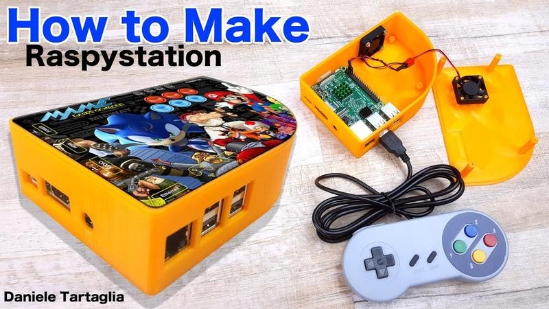 Raspystation - Come si costruisce una Console da sogno - how to make videogame Console