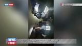 Русский парень спас немецких девушек от вооружённого ножами мигранта