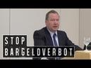 Stop Bargeldverbot Max Otte Gerald Mann Ulrich Horstmann zum drohenden Bargeldverbot
