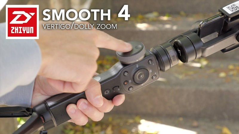 Zhiyun Smooth 4 - How To Do the Dolly Zoom/Vertigo Effect