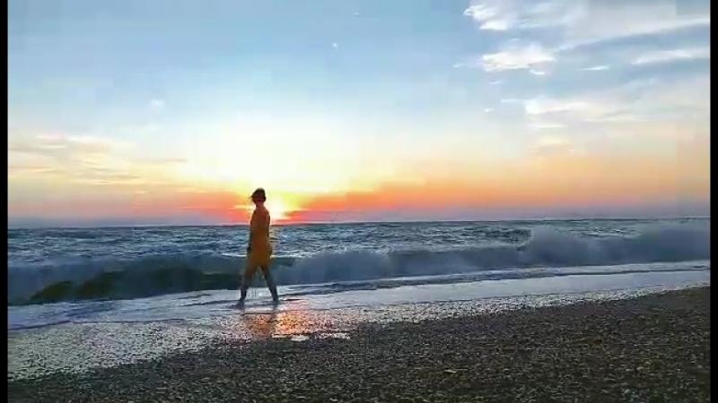 Чудесный вечер у моря. Крым. Автор- Dasha Klimashkina