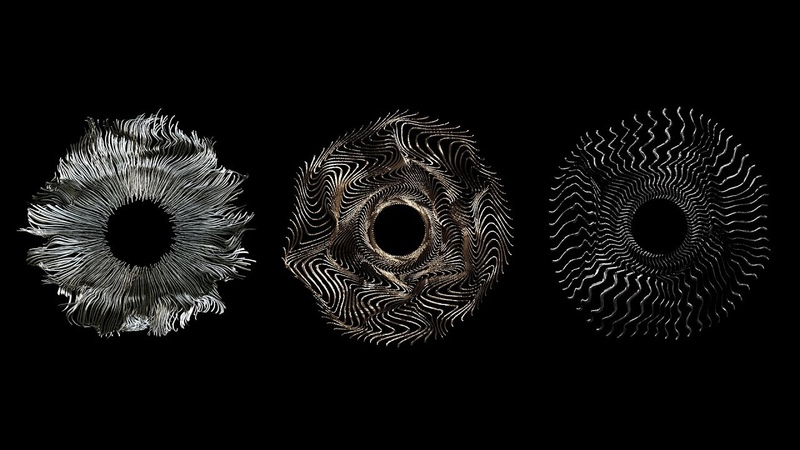 Let's Create a Metallic Flowing Sunburst Aureola with Trapcode TAO