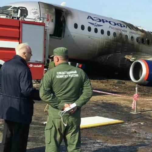 Пожар «Суперджета» в Шереметьево спустя сутки: жертвы, версии и первые последствия