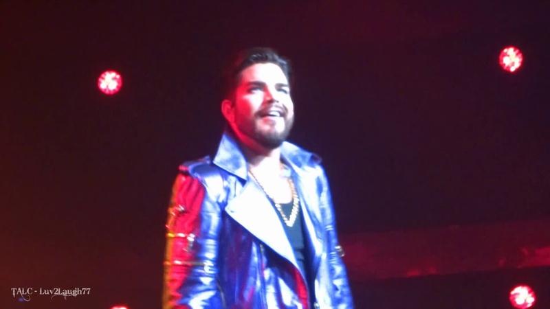 Q ueen Adam Lambert - Fat B ottomed Girls - P ark Theater - Las Vegas - 9.21.18