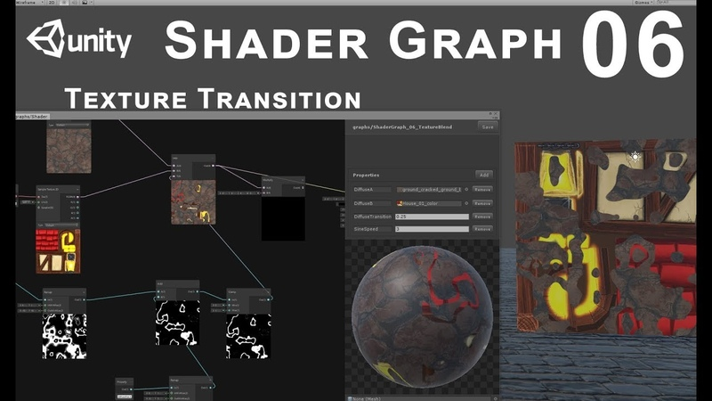 Unity 2018 Shader Graph - Tutorial 06 Texture Transition