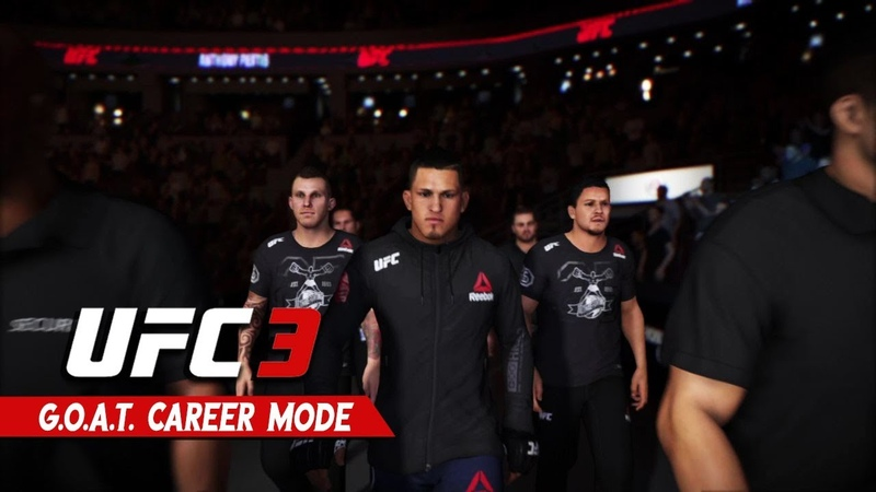 UFC 3 Career Mode - Ep 11 - ANTHONY PETTIS VS MAX LEE!!