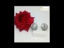 🎀Серьги из серебра 925 пробы с фианитами в комплекте с кольцом и подвесом Ювелирный магазин Евгения