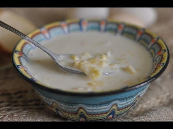 суп рецепты Суп затирка по-белорусски/Молочный суп/Рецепт простого супа.