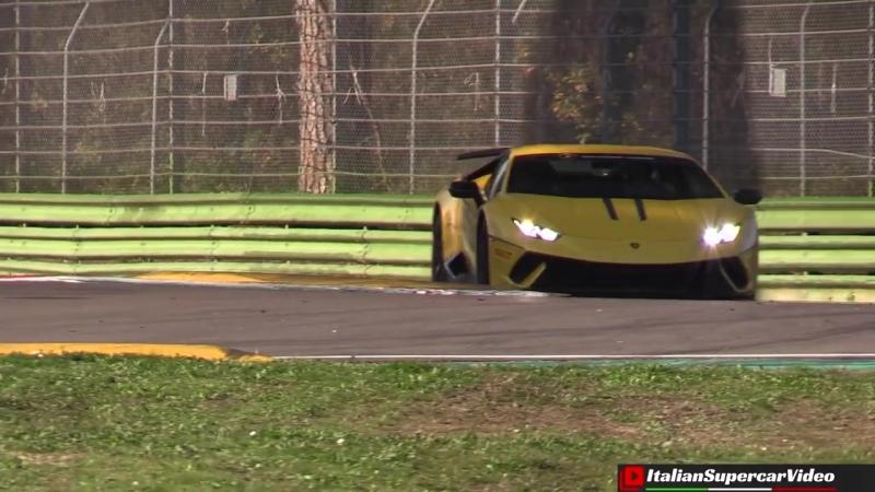Lamborghini Huracán Super Trofeo EVO first public debut on track