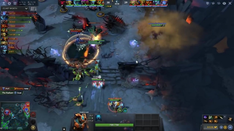 Dotatvru Fail Megas attempt w33 team 7 07 Arc Warden Comeback