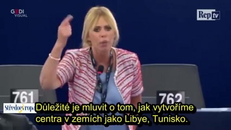 Italská europoslankyně Alessandra