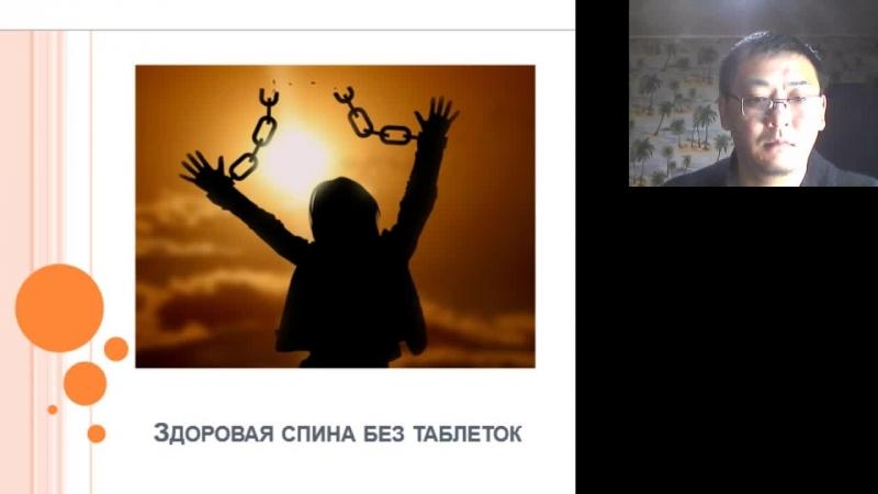 Сергей Ли. Дерево жизни. Здоровая спина без таблеток