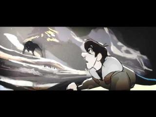 До слёз грустный Мультик. Песня Волчицы. Эмоции через край.. Короткометражный му ...