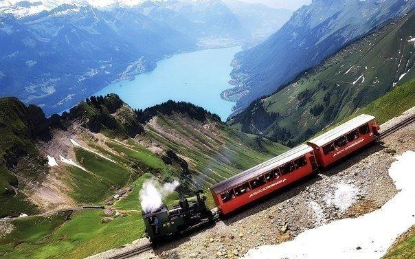 Туристическая горная железная дорога, Швейцария