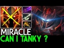 Miracle- Dragon Knight Can i Tanky This Shit Game 7.19 Dota 2