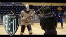 Knights fight with long sword - Piotr Krigier vs Łukasz Stecko [26 Jaworzno 2015 ]