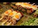 Comida de rua no Japão delicosos sabores compilação culinária japonesa