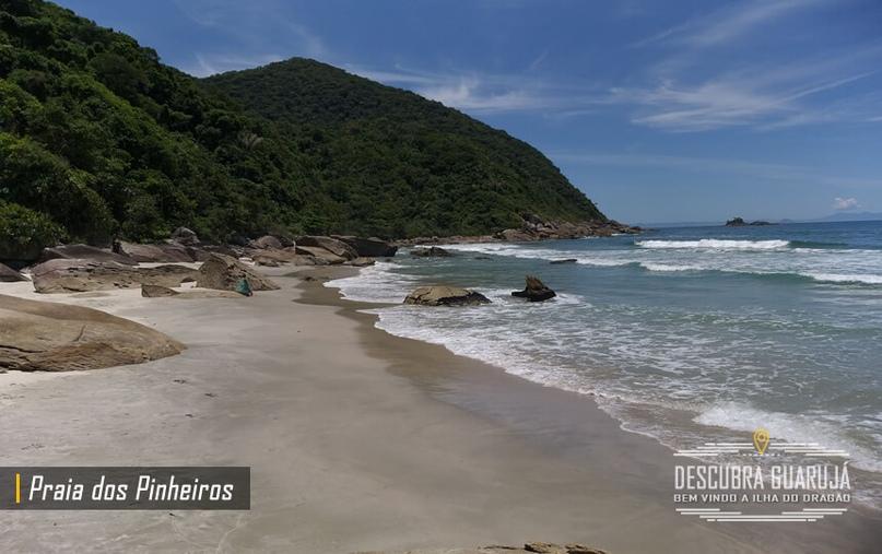 Bela vista da praia dos Pinheiros