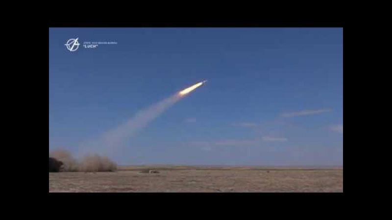 Пуски ракет з модернізованого ЗРК С-125 Печора - КБ «Луч»