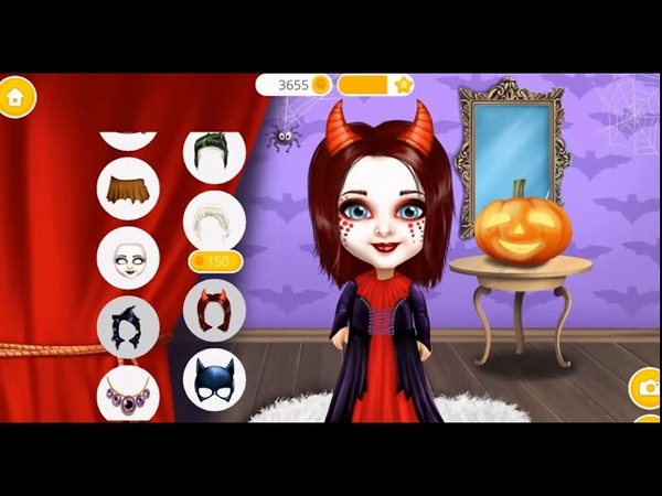 Сладкий Маленький Хэллоуин для девочек Лучшие наряды для Хэллоуина игры для девочек Мультики 2018