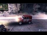 Компьютерная игра Spin Tires 2011 с устаноленным зимним модом Winter Edition