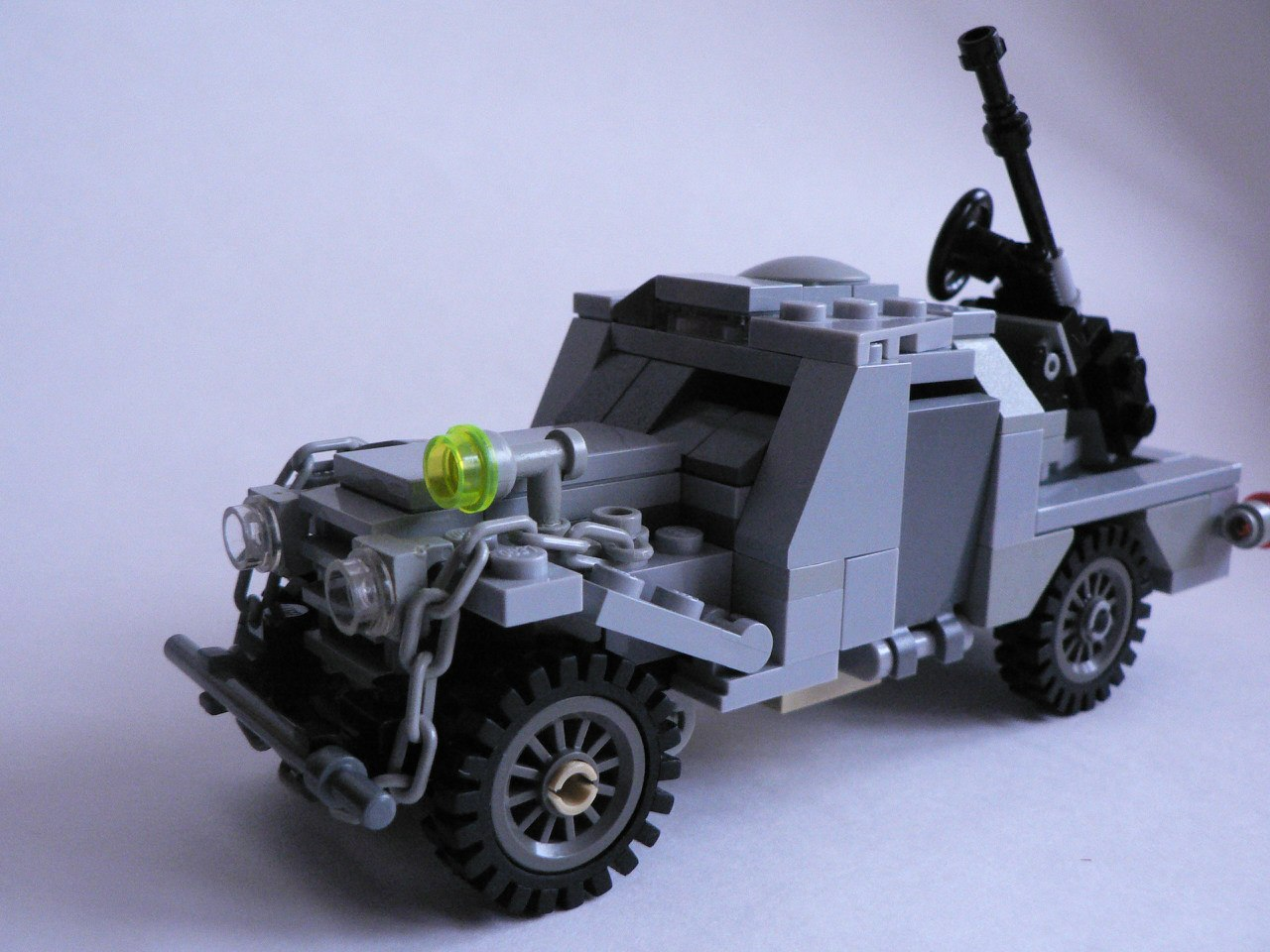 Как сделать немецкий грузовик из лего