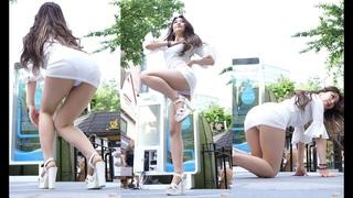 심쿵해 | AOA - 비글여친 수연 180521 신촌아리수 버스킹 chulwoo 직캠(Fancam)