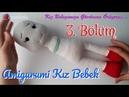 Amigurumi Kız Bebek Yapımı 3 Bölüm Bacak Birleştirme ve Gövde Örgü Oyuncak Bebek 3 7