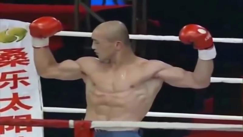 Отмороженный Шаолинь Монах против Бойцов MMA! Жесть,красава Бои без правил ММА восьмиугольник