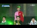 FANCAM   170516(Эп.7)   N'Sync — Pop   Трейни HF Music Company — Пак Удам @ Produce 101 Season 2