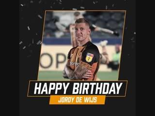 Happy Birthday Jordy De Wijs