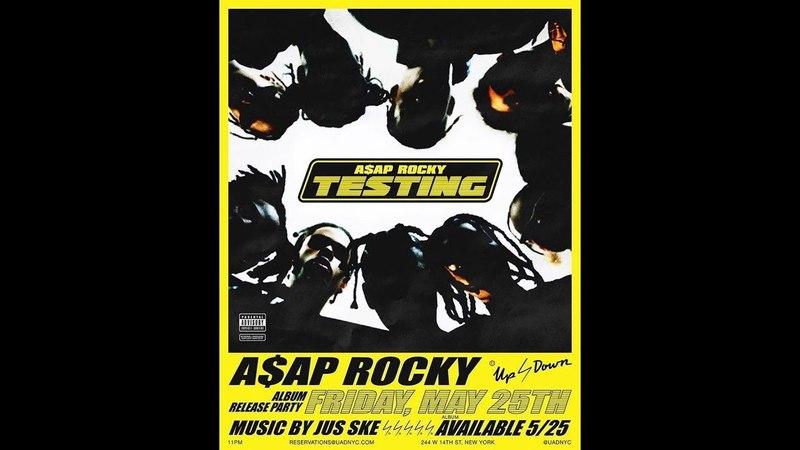 A$AP Rocky X Frank Ocean Snipper from Testing. It's LIT!