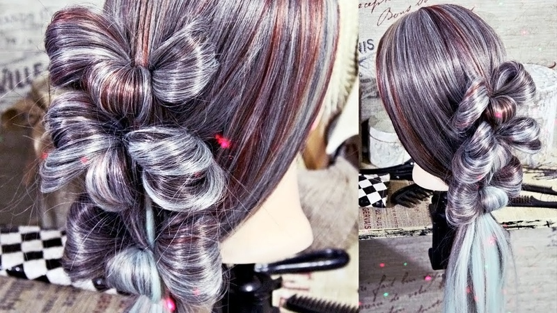 Hairstyle - Braid Bows | Hairstyles by REM | Copyright ©