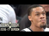 K.J. McDaniels 16 Points3 Dunks Full Highlights (3232017)