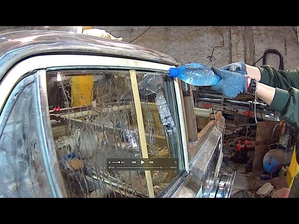 How to make windshield fluid, Rain repellent - free nanotechnology