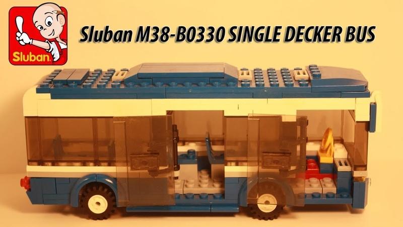 Sluban M38-B0330 SINGLE DECKER BUS (Одноэтажный автобус)