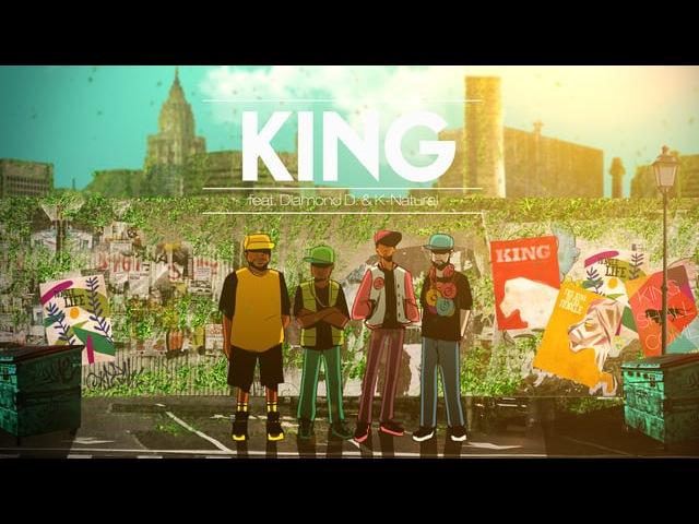 Slimkid3 DJ Nu-Mark feat. Diamond D. K-Natural - KING (Official Music Video)