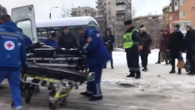 Авария у станции метро «Академическая»