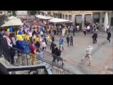 Euro2016: German hooligans attacked Ukrainians in Lille 12.06.2016