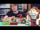 Brickworm - обзоры конструкторов LEGO LEGO Черепашки! #4 - The Shellraiser Street Chase (Lego TMNT) - Brickworm