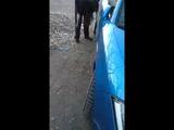 Девушка портит авто  Улан-Удэ