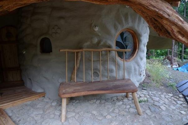 Земляной домик в Японии