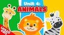 Tiếng Anh cho bé qua Sách Let's go 4 : bé học tiếng Anh về con vật  Lioleo Kids 