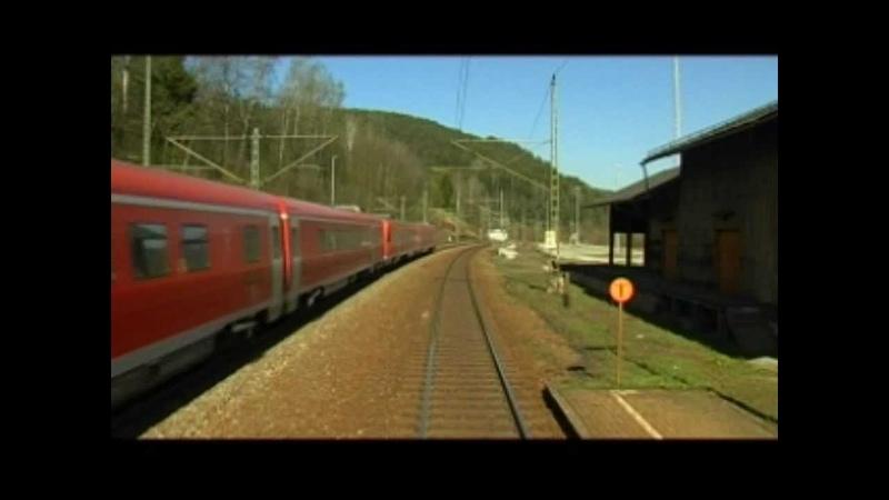 Lichtenfels - Kronach - Saalfeld : Führerstandsmitfahrt