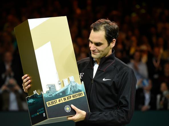 Роджер Федерер первая ракетка мира