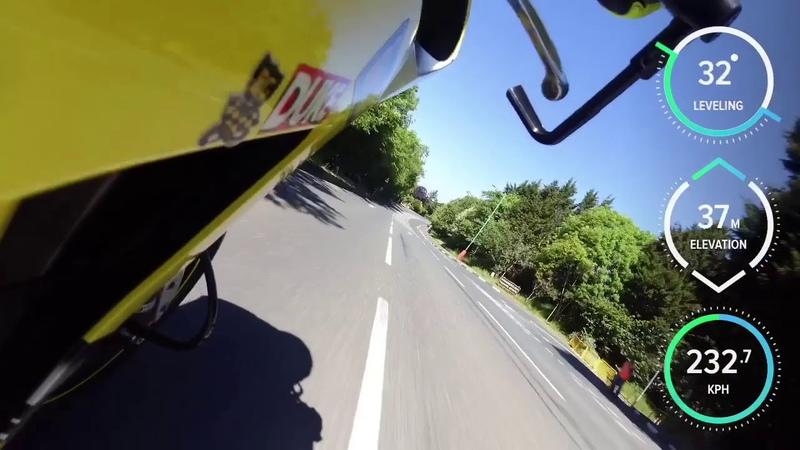 TT 2018 | Supersport Race 2 | GYRO CAM On Board with Bjorn Gunnarsson