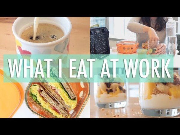 What I Eat In a Day at Work | EASY Healthy Meals