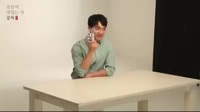 Lee Seung Gi Gong Cha Photoshoot BTS Video 2