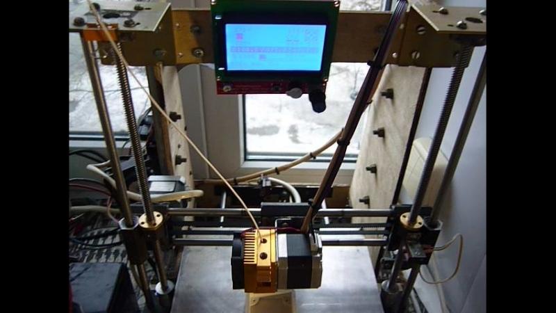 Печать корпуса на 3D принтере
