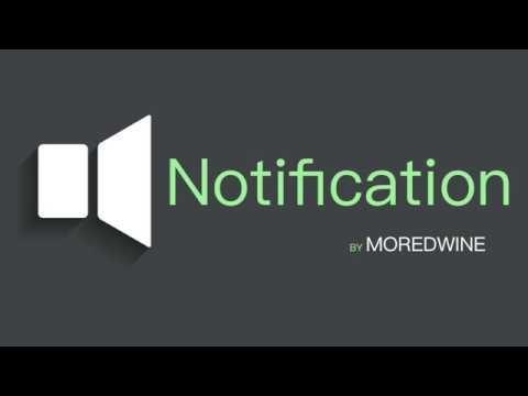 Notification Sound (Audiojungle Moredwine)